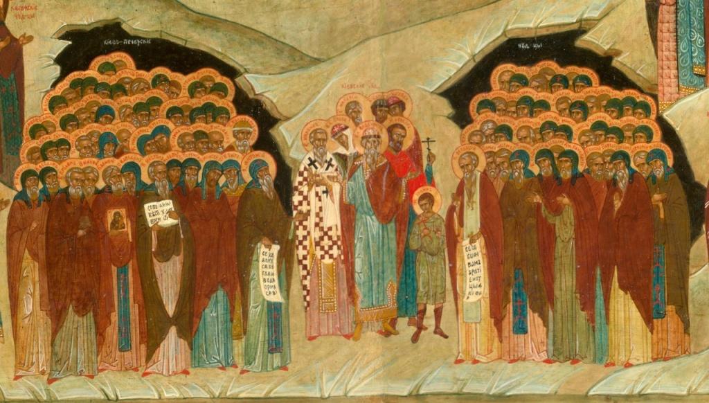 Память всех преподобных, в подвиге поста и молитвы просиявших